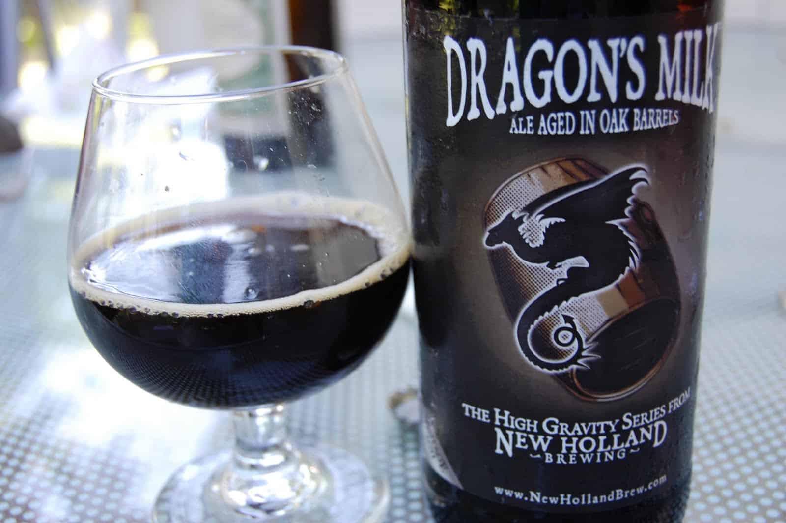 New Holland Dragon's Milk – best tasting beer