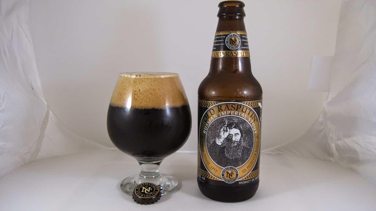 North Coast's Old Rasputin – best tasting beer