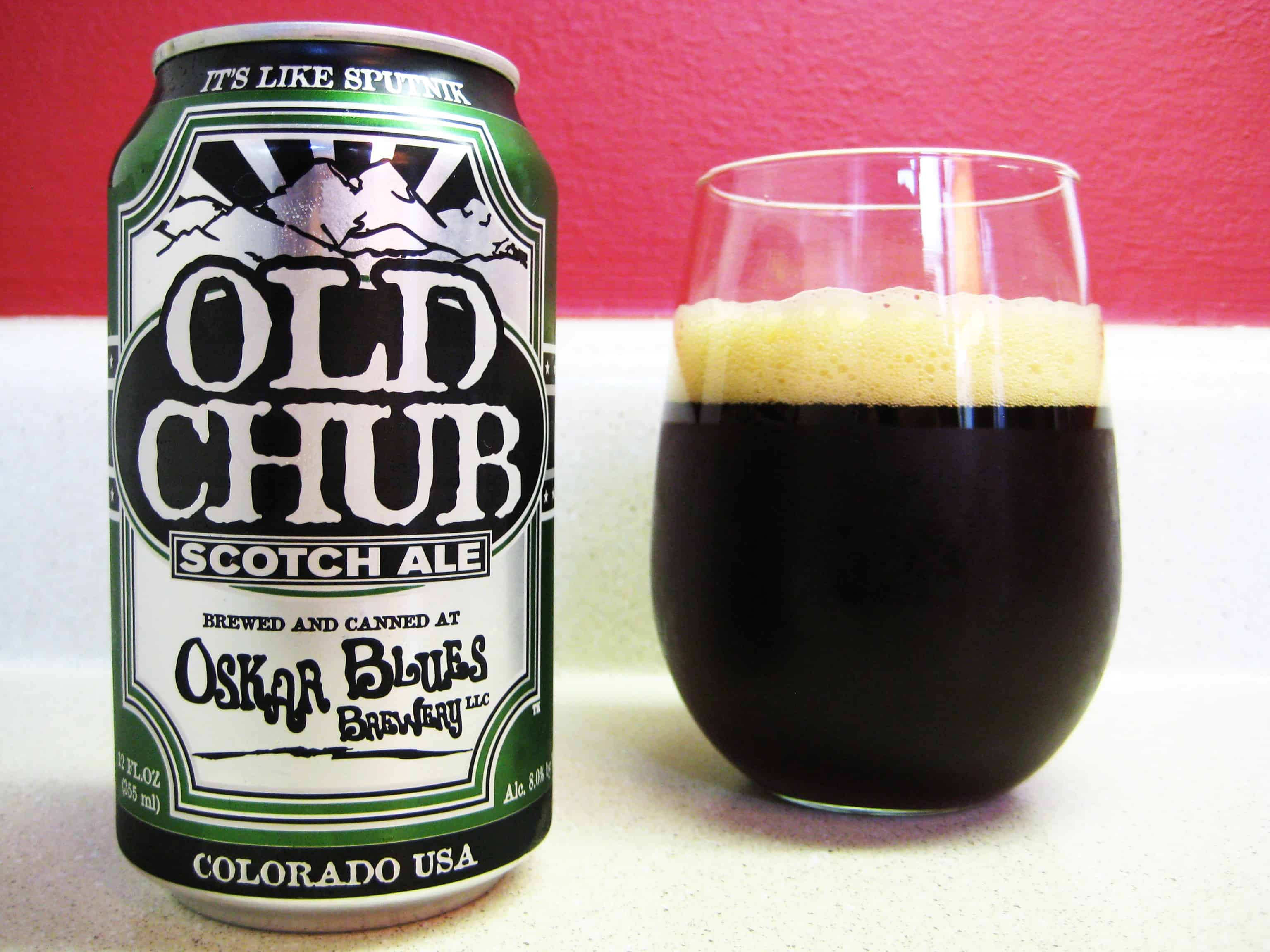 Oskar Blues Old Chub – shower beer