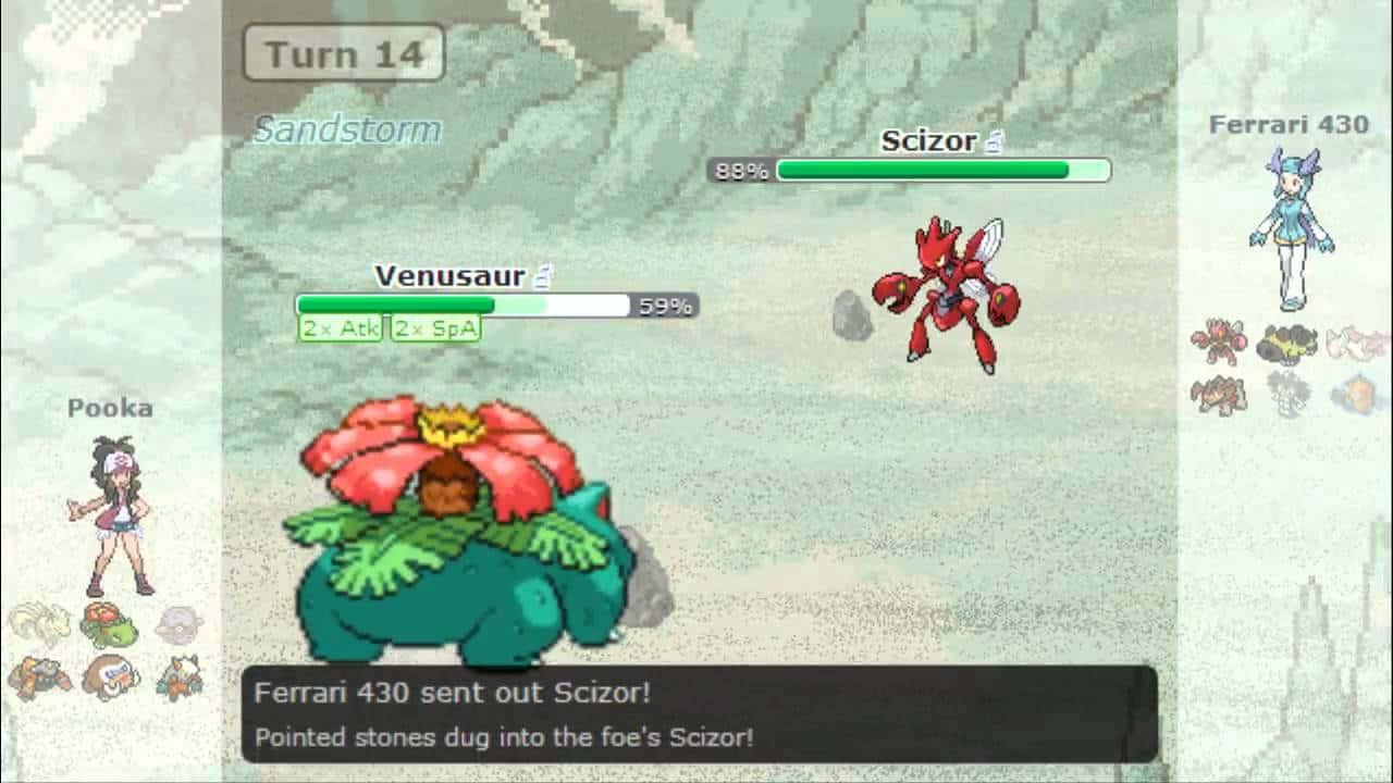 Pokémon Showdown – browser game