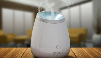 PureSpa Deluxe essential oil diffuser 345x200 The 8 Best Essential Oil Diffusers (Reviews) in 2021