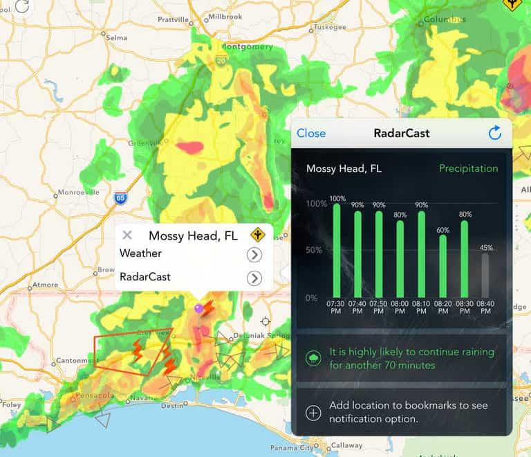 RadarCast Elite – weather app