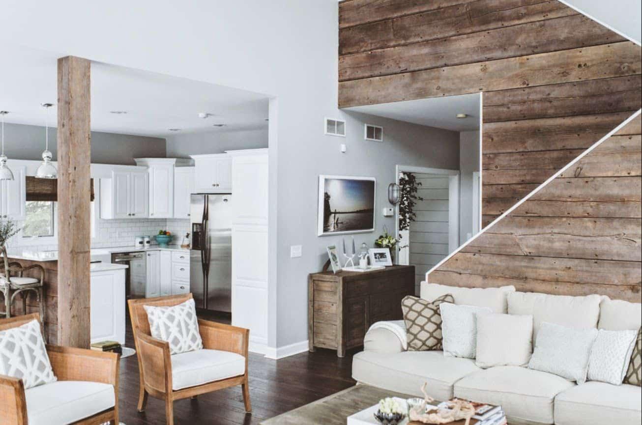 Reclaimed – living room idea