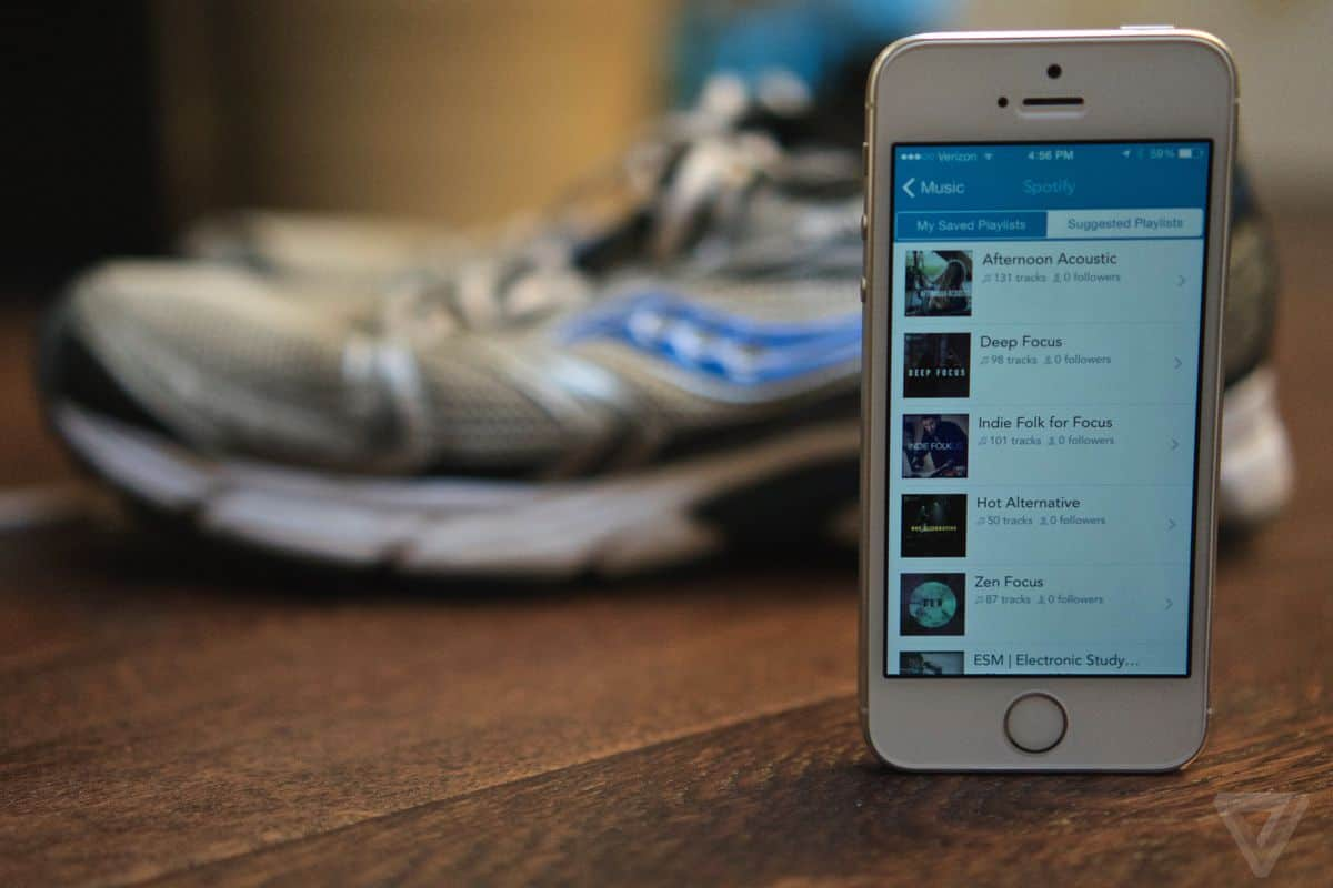 Run With Spotify Tip