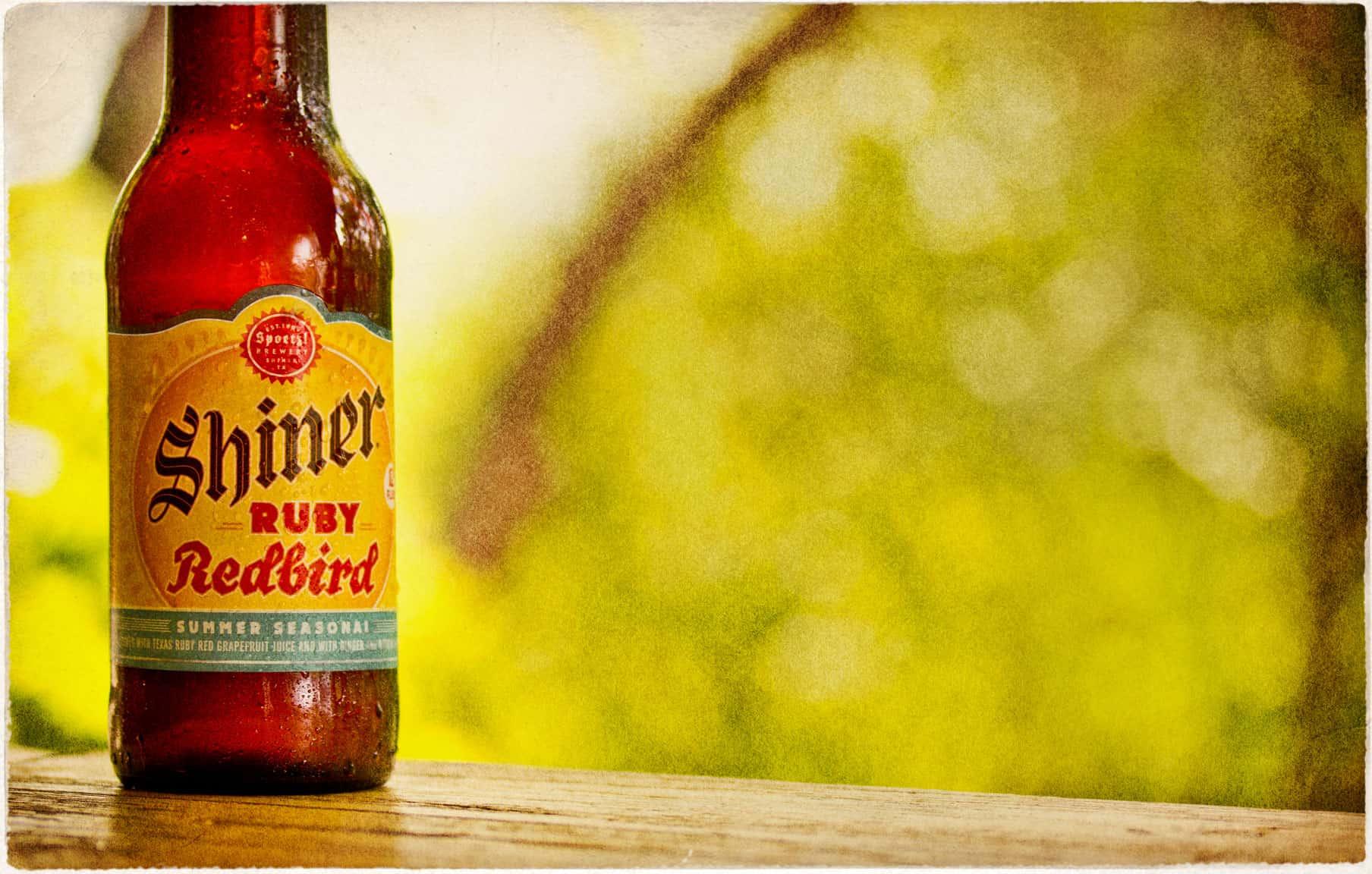 Shiner Ruby Redbird – shower beer