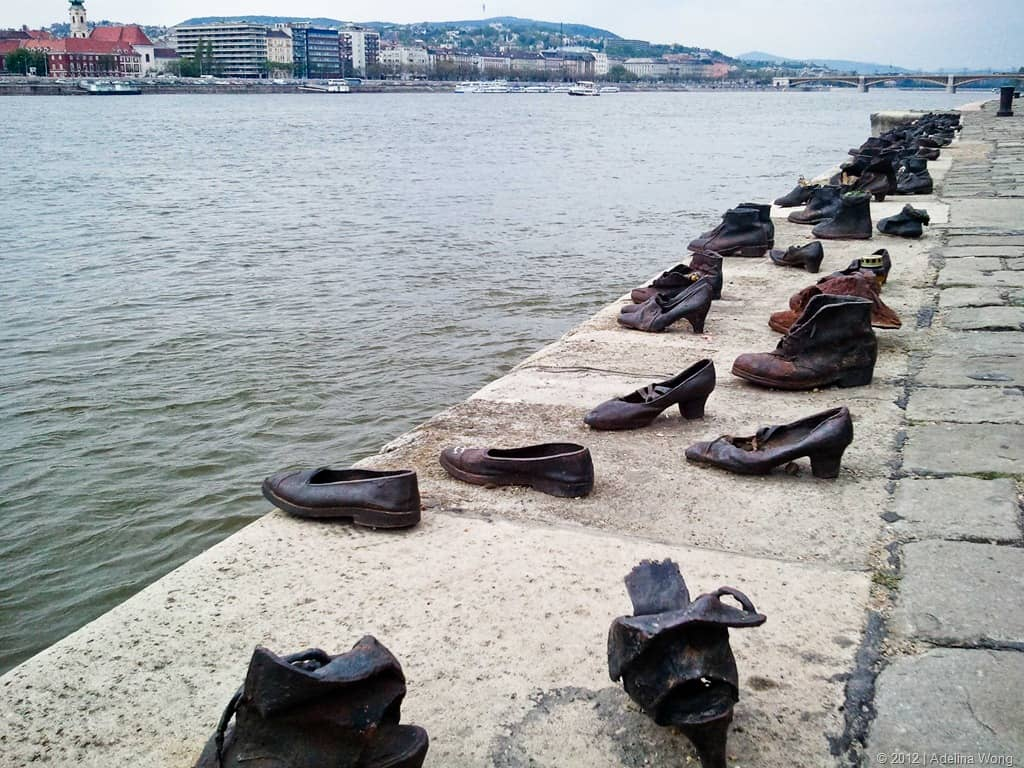 Shoes on the Danube – famous sculpture