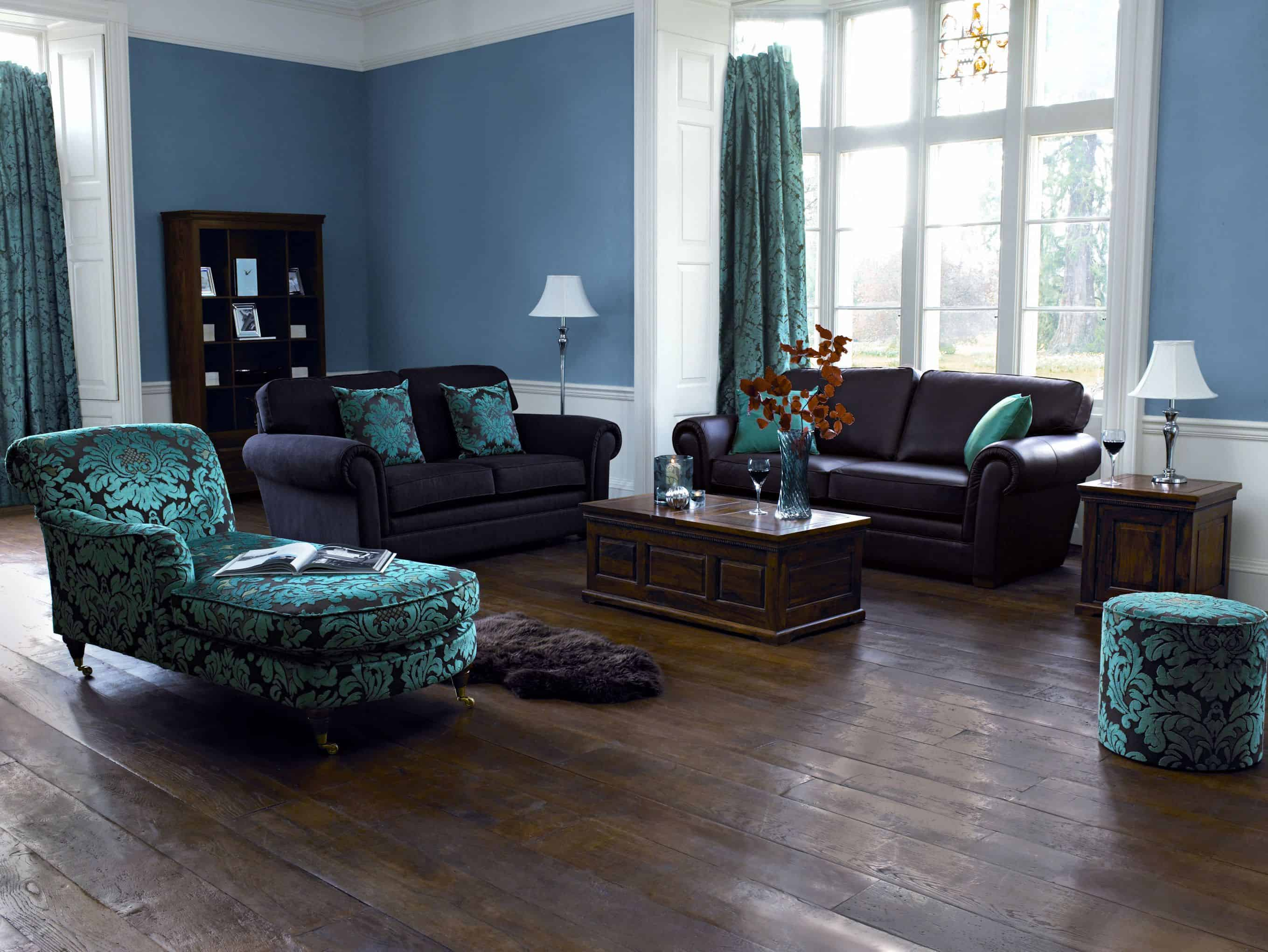 Soothing Hues – living room idea