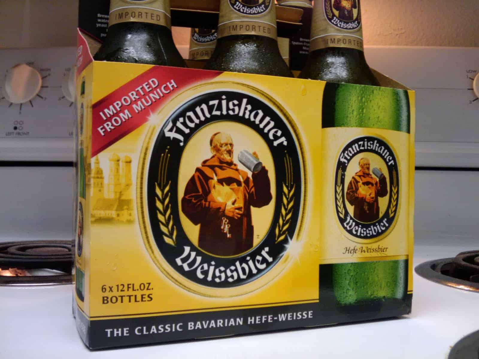 Spaten-Franziskaner-Bräu Franziskaner Hefe-Weisse – best tasting beer