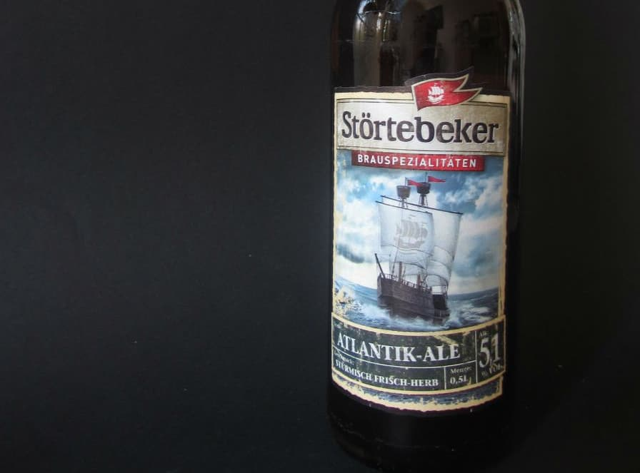 Störtebeker Atlantik Ale – shower beer