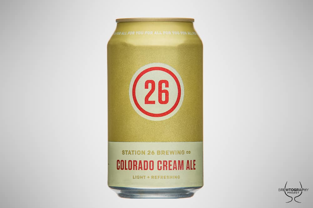 Station 26 Colorado Cream Ale – shower beer