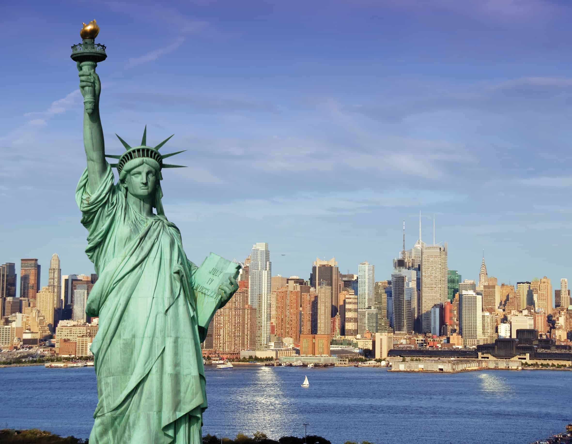 Statue of Liberty – famous sculpture