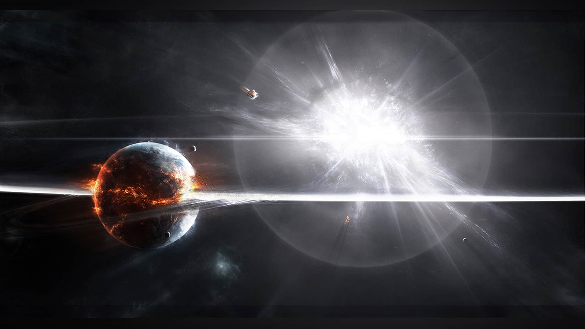 Supernova – doomsday scenario