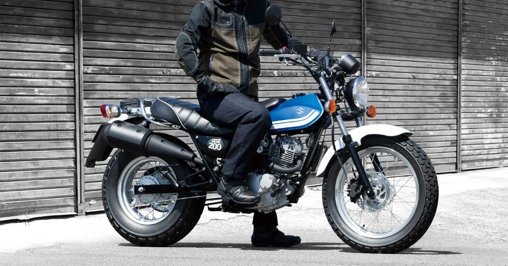 Suzuki Vanvan 200 – japanese motorcycle