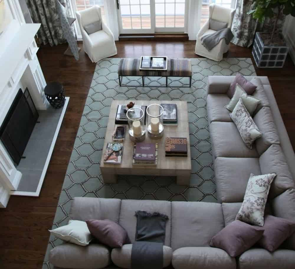 Sweep It Up – living room idea