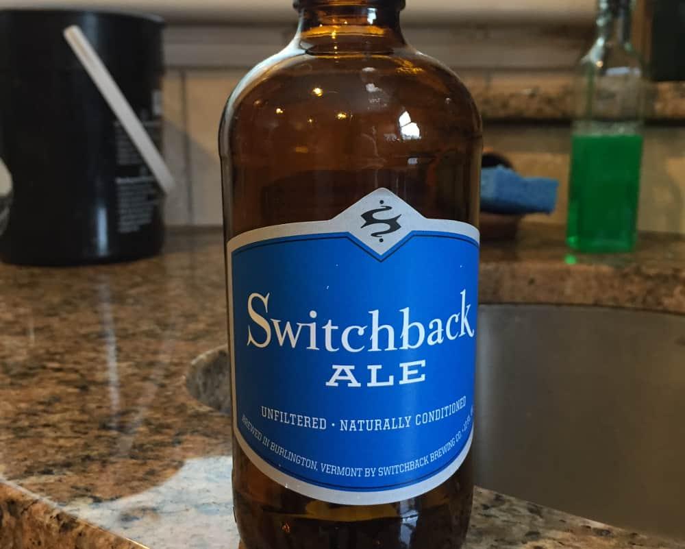 Switchback Ale – shower beer
