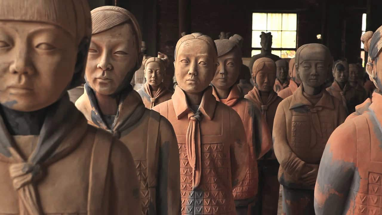 Terracotta Daughters – famous sculpture
