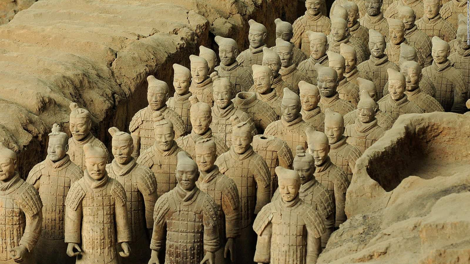 Terracotta Warriors – famous sculpture