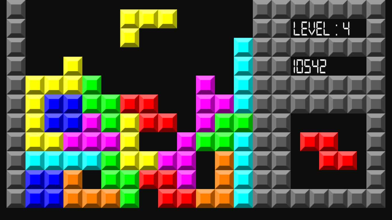 Tetris – browser game