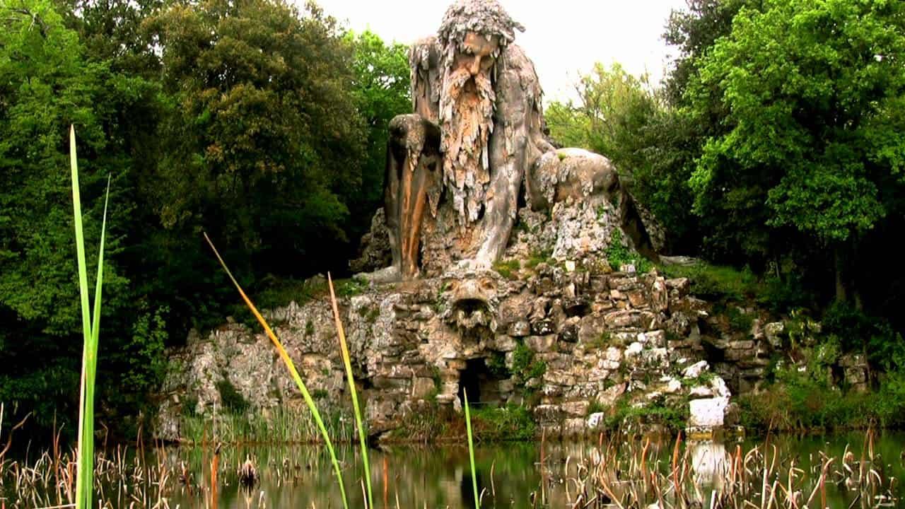 The Appennine Colossus – famous sculpture