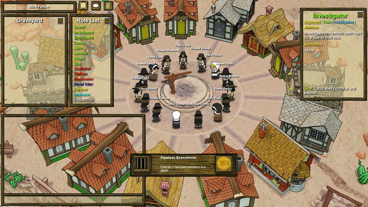 Town of Salem – browser game