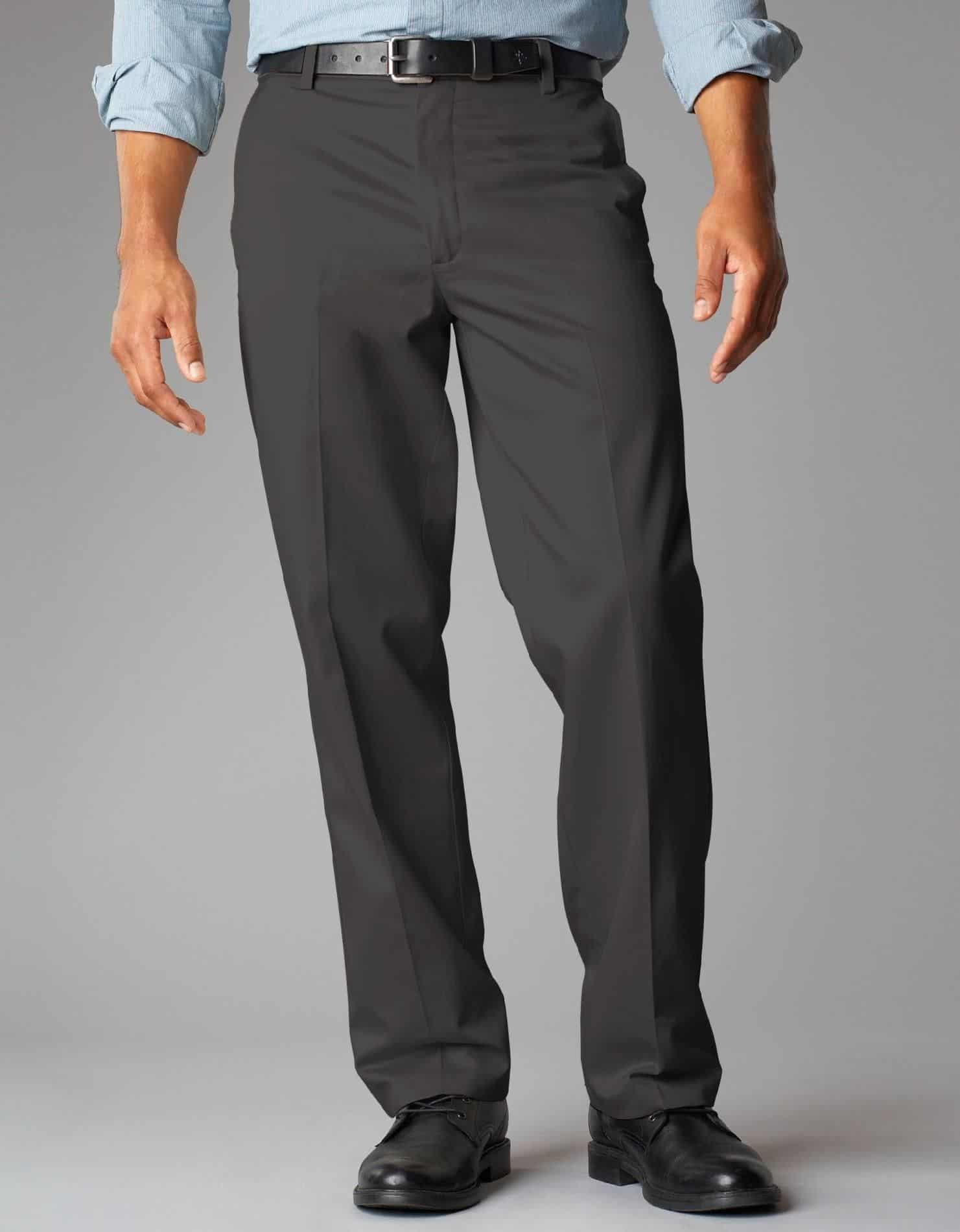 Trousers – men dress for body type