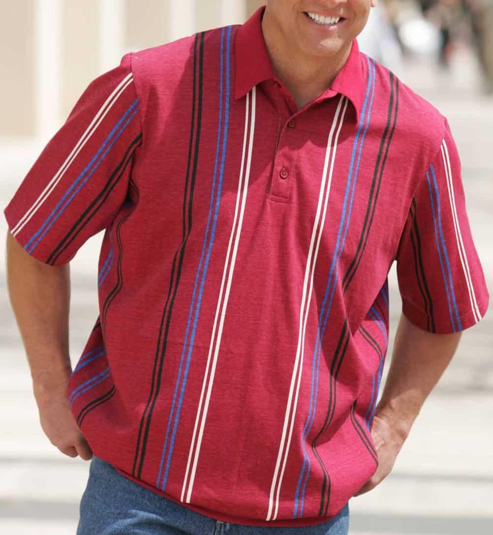 Vertical Stripes – men dress for body type