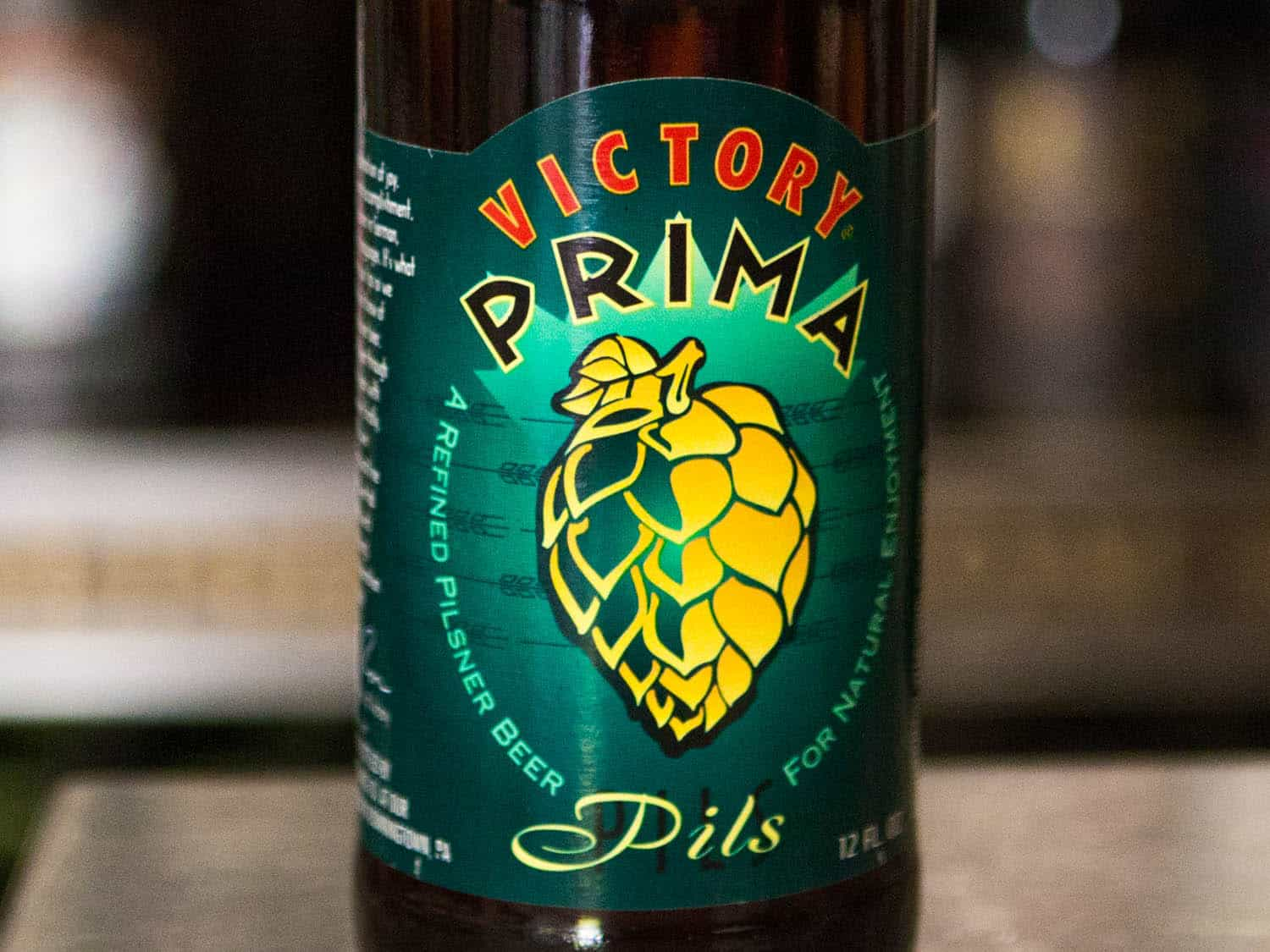 Victory Prima Pils – shower beer