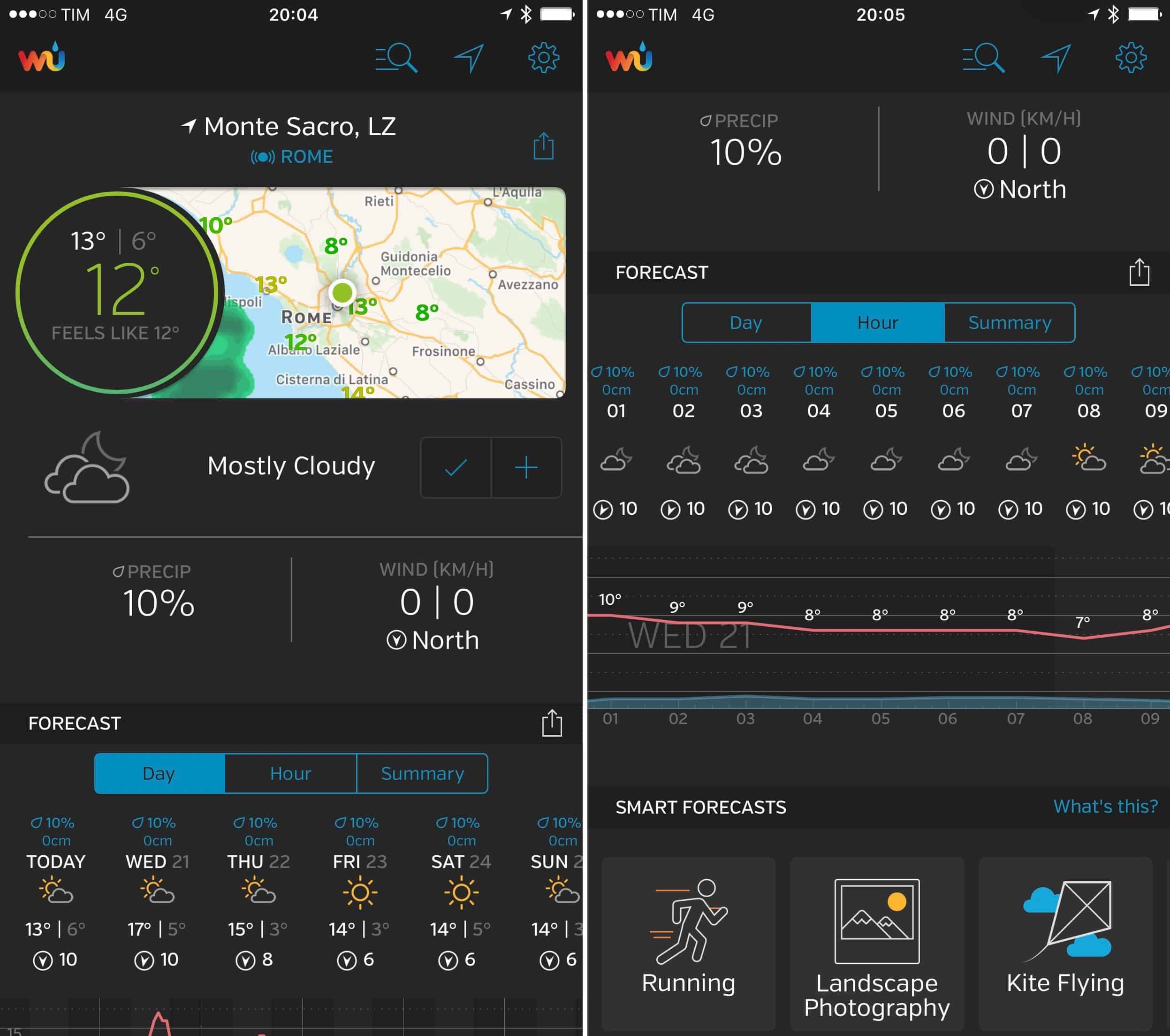 Weather Underground App