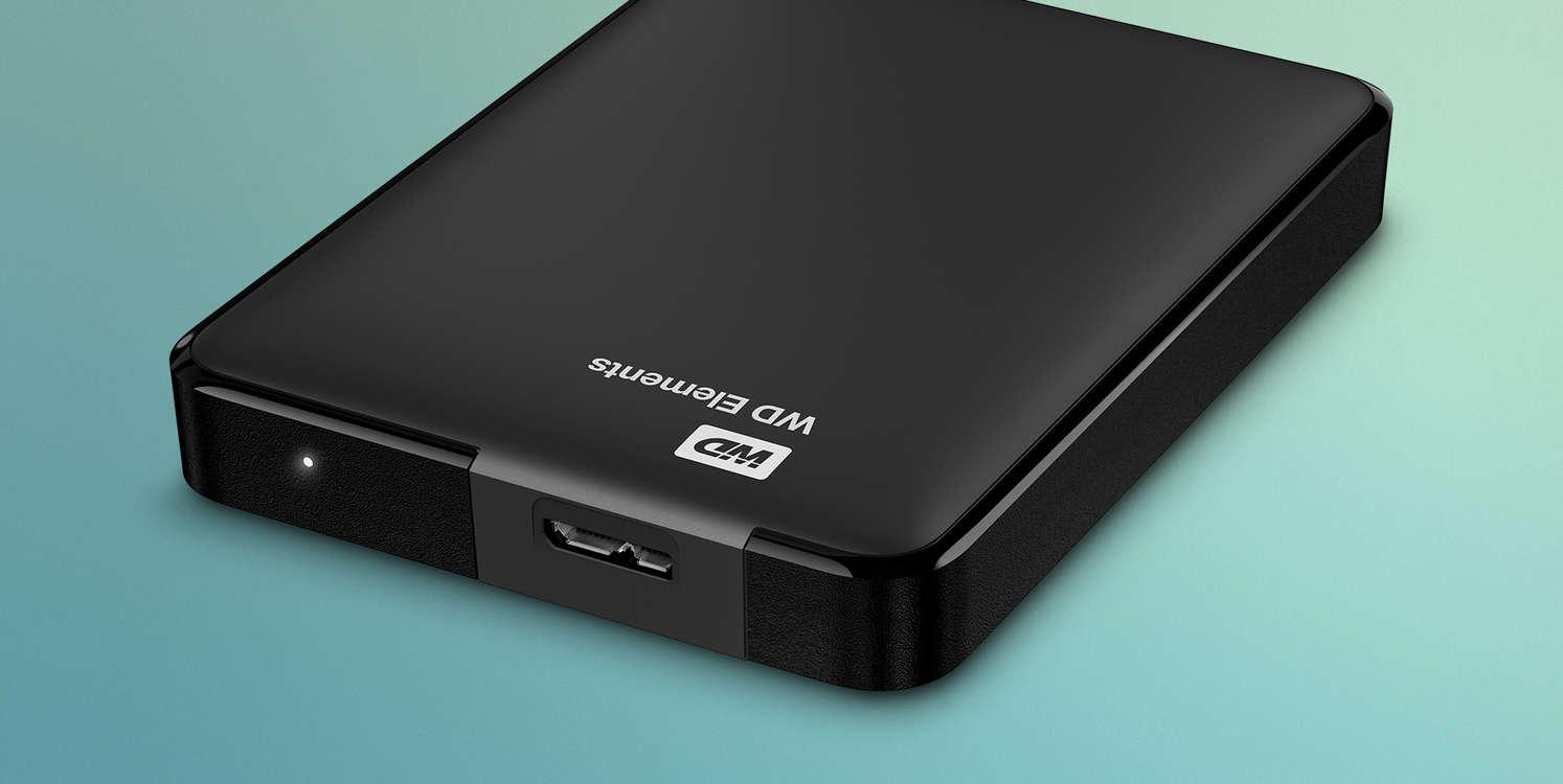 Western Digital Elements – external hard drive