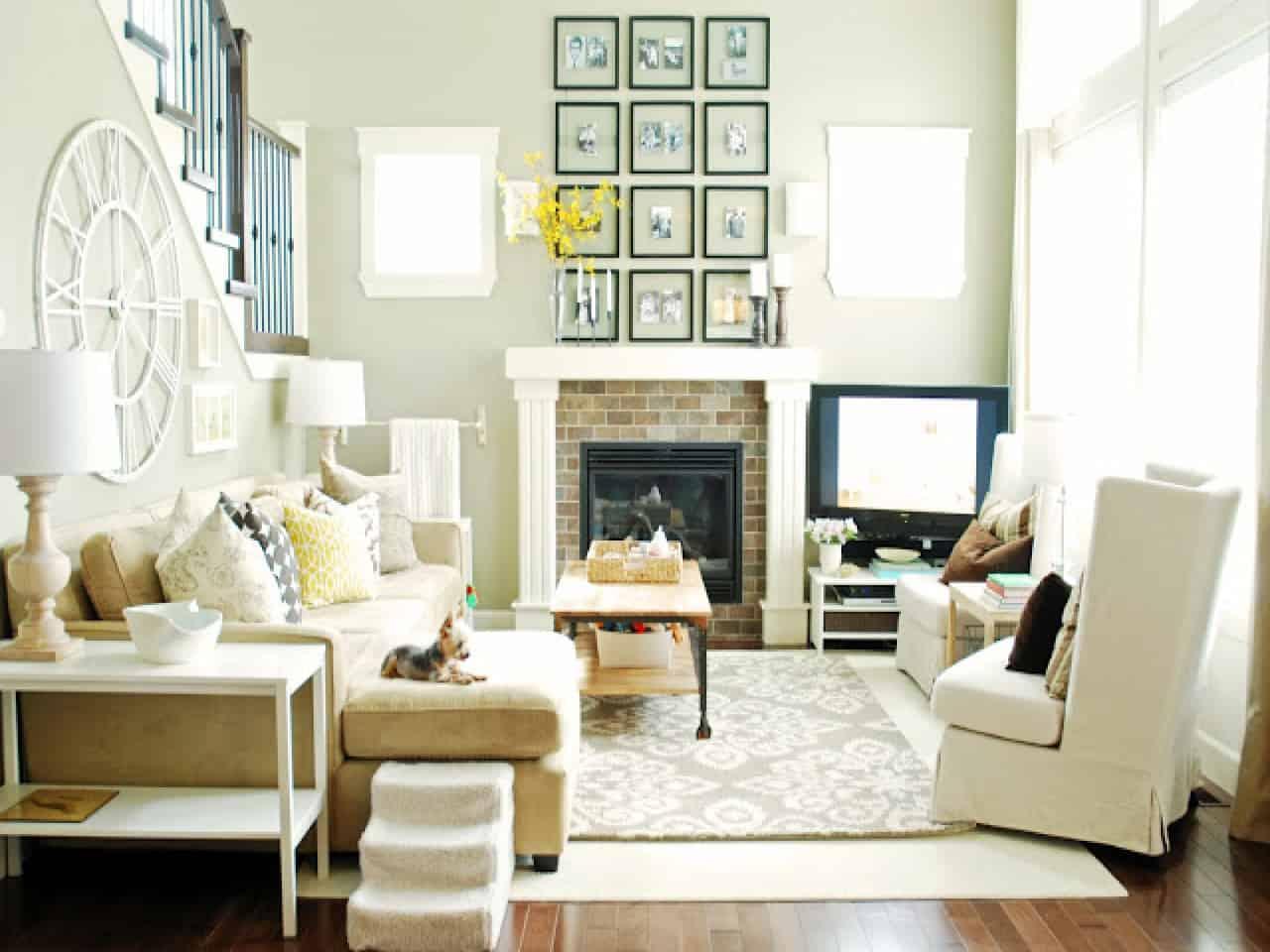 Whiten Up – living room idea