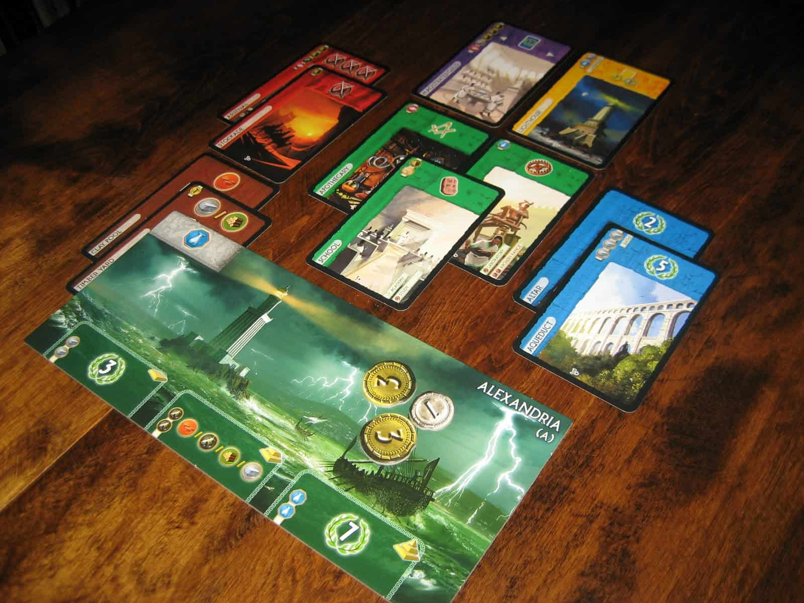 7 Wonders – board game