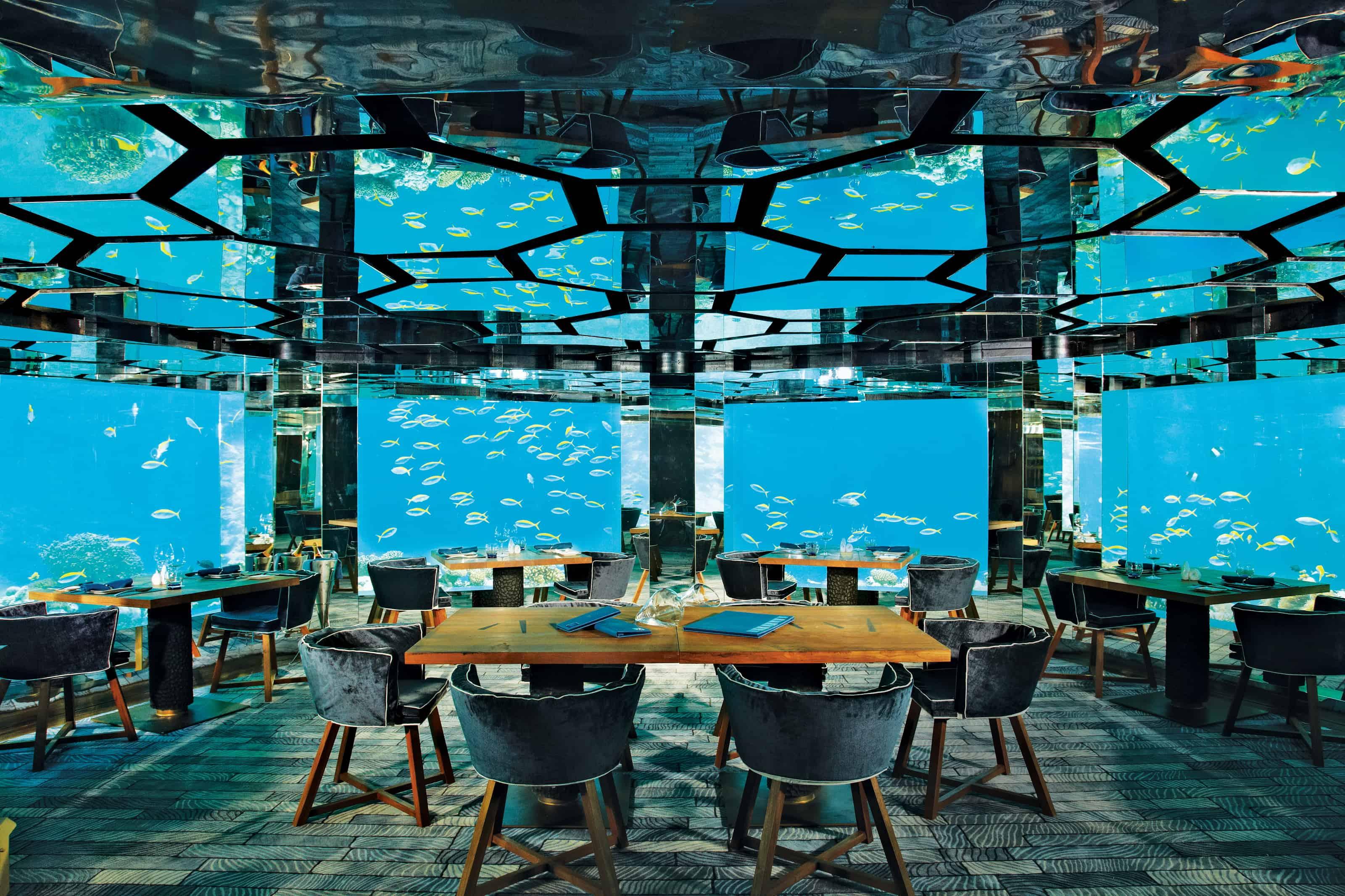 Anantara Kihavah Villas, Maldives – underwater hotel