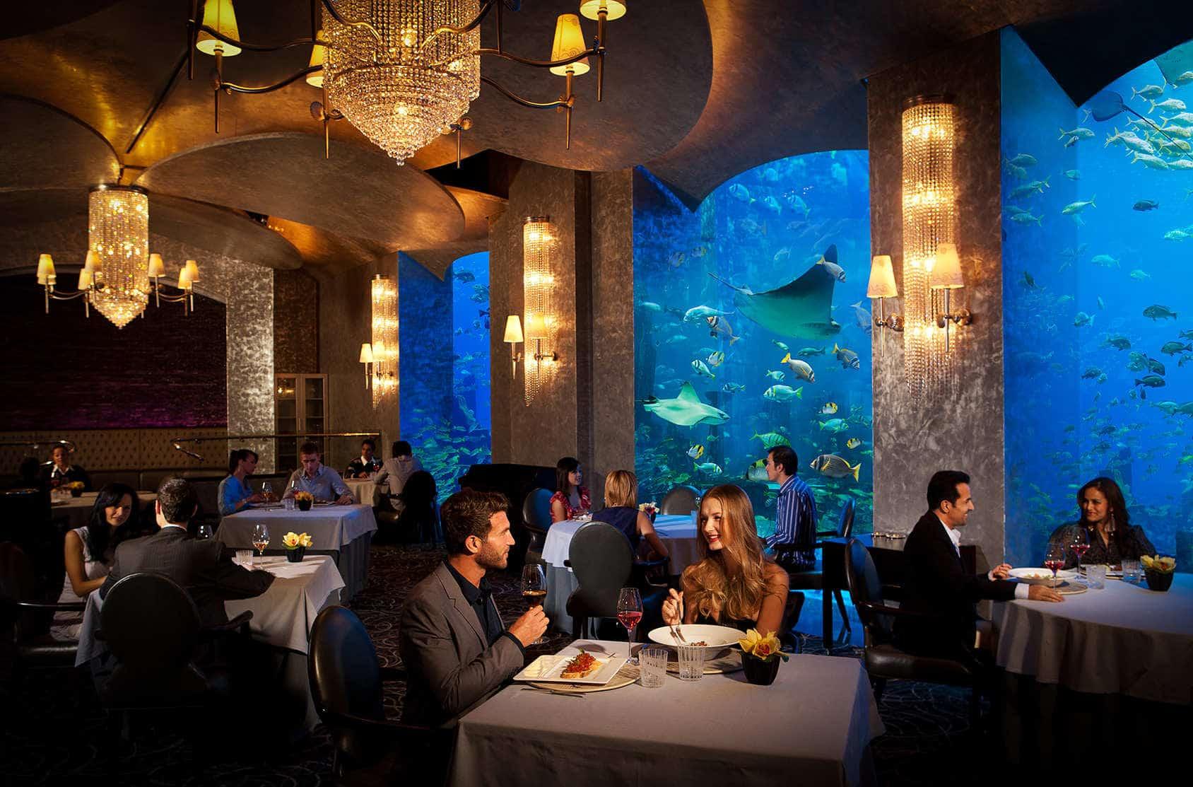 Atlantis The Palm, Dubai – underwater hotel