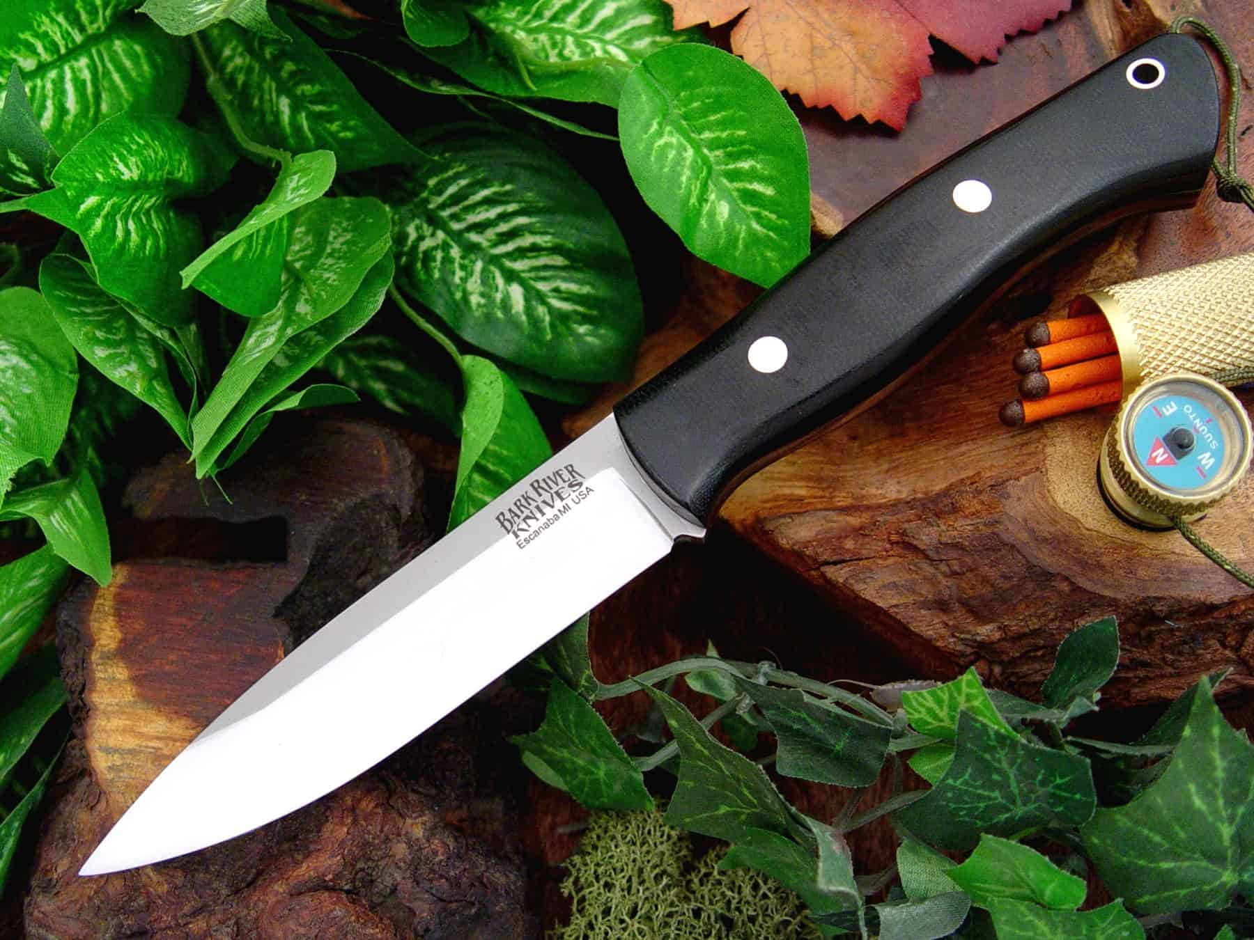 Bark River Aurora – bushcraft knife