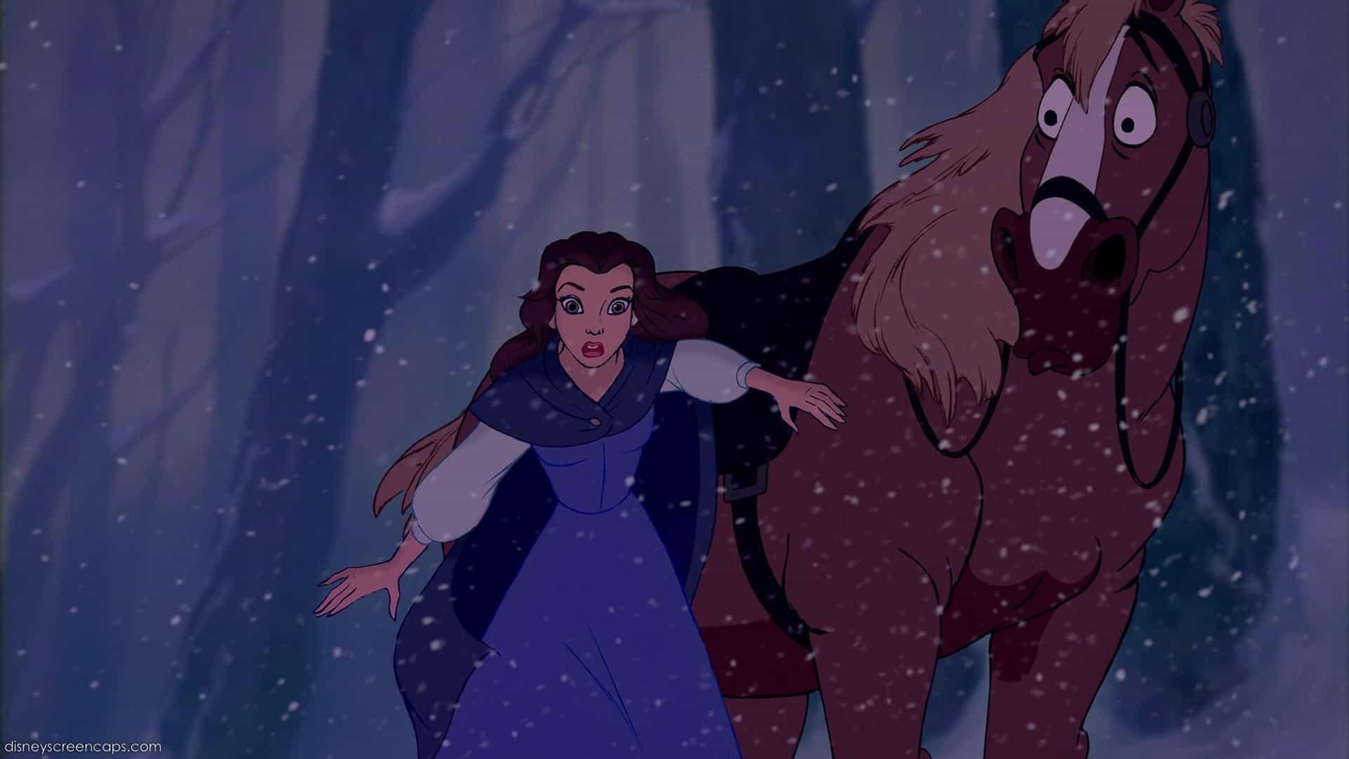 Belle Exhibits No Skills – worst Disney princess