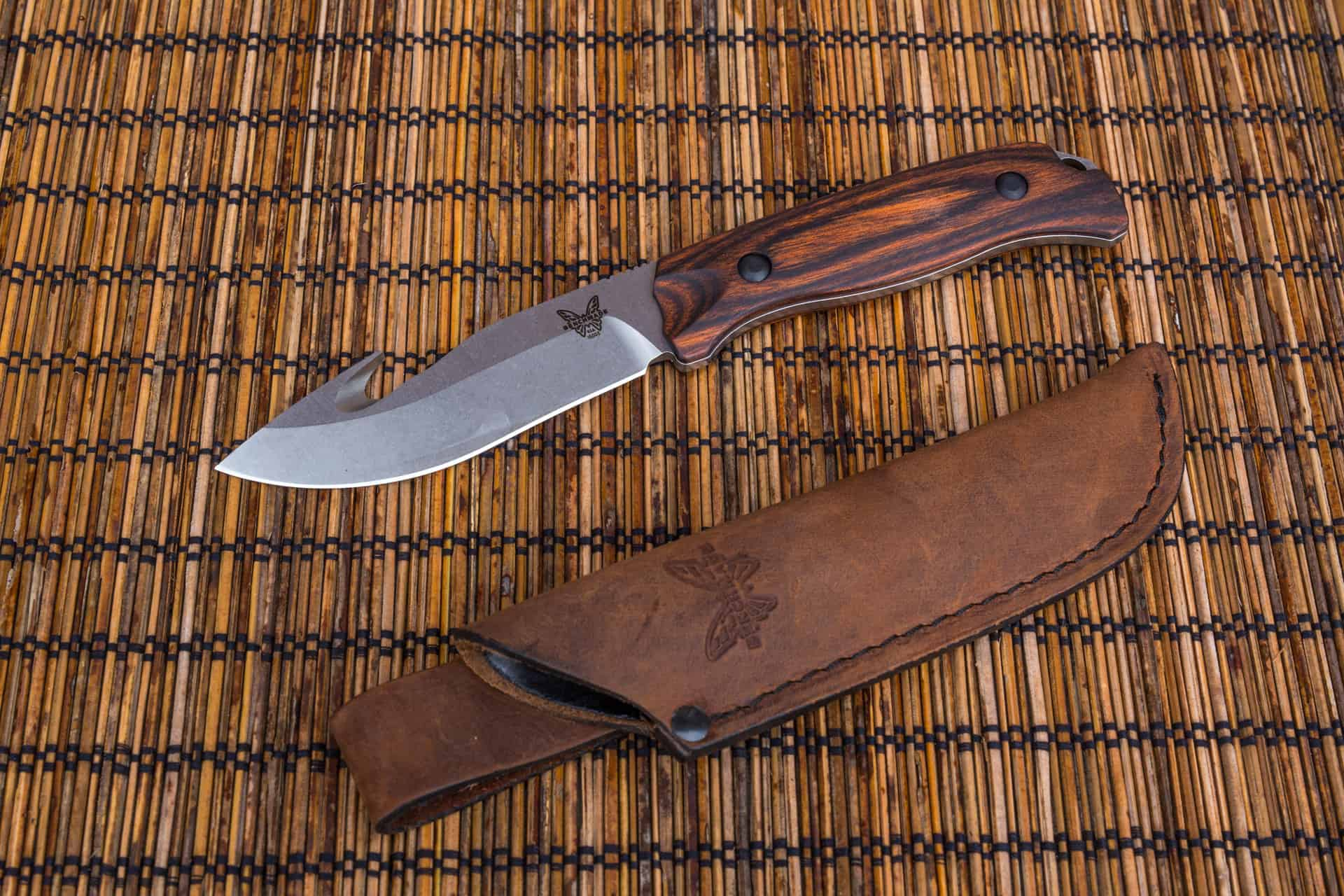 Benchmade Saddle Mountain Skinner – bushcraft knife