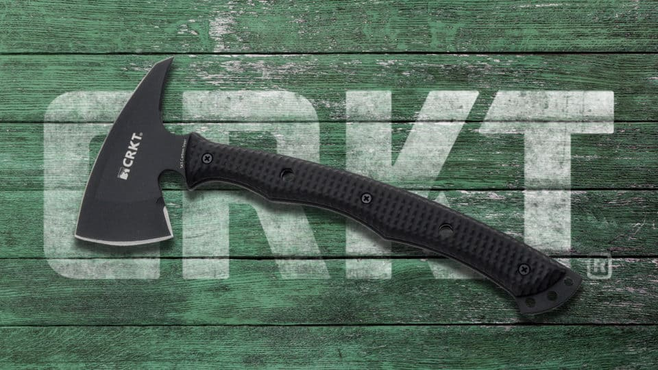 Columbia River Knife and Tool Kangee T-Hawk Tactical Tomahawk