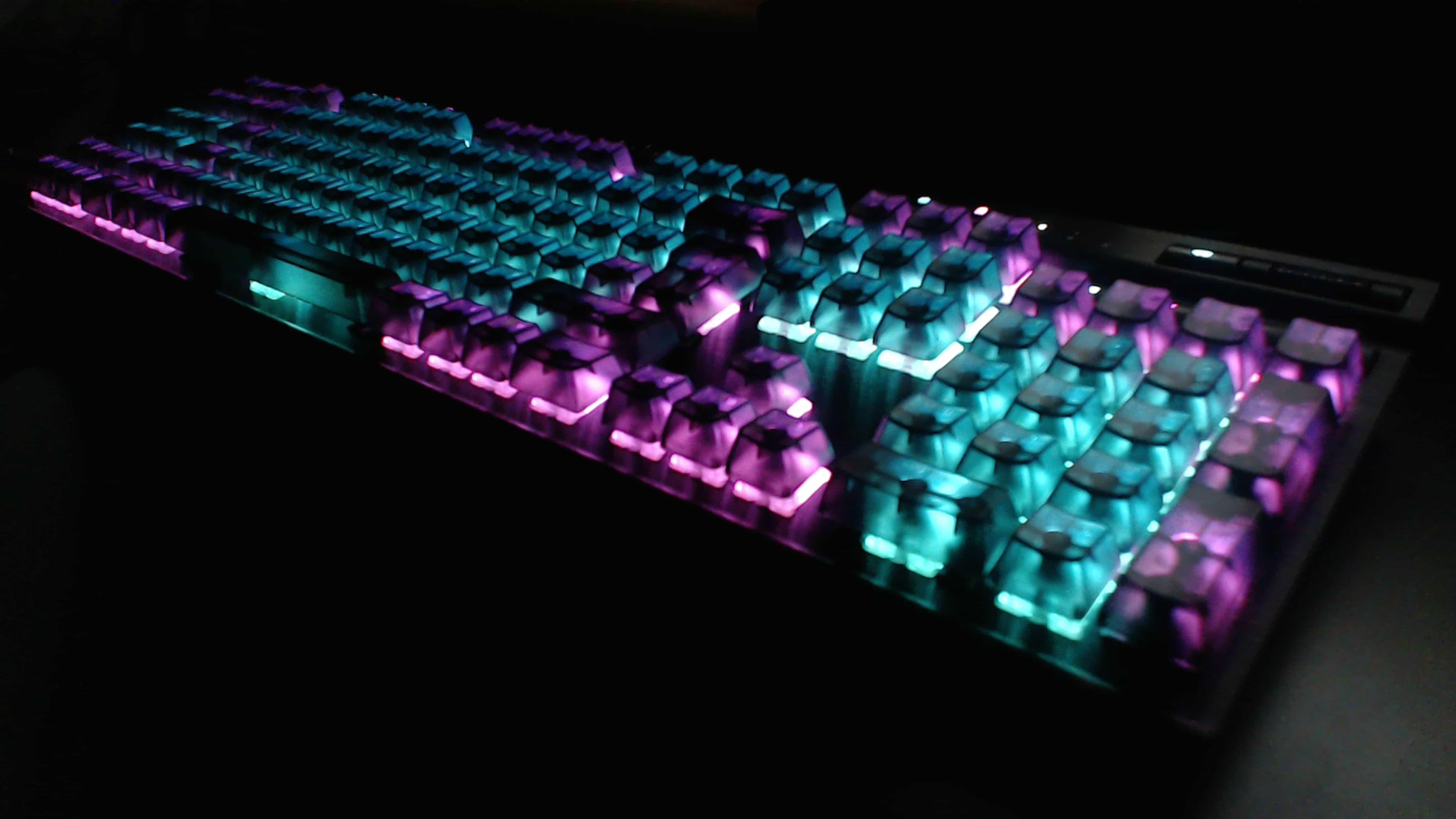 Corsair K95 RGB – mechanical keyboard