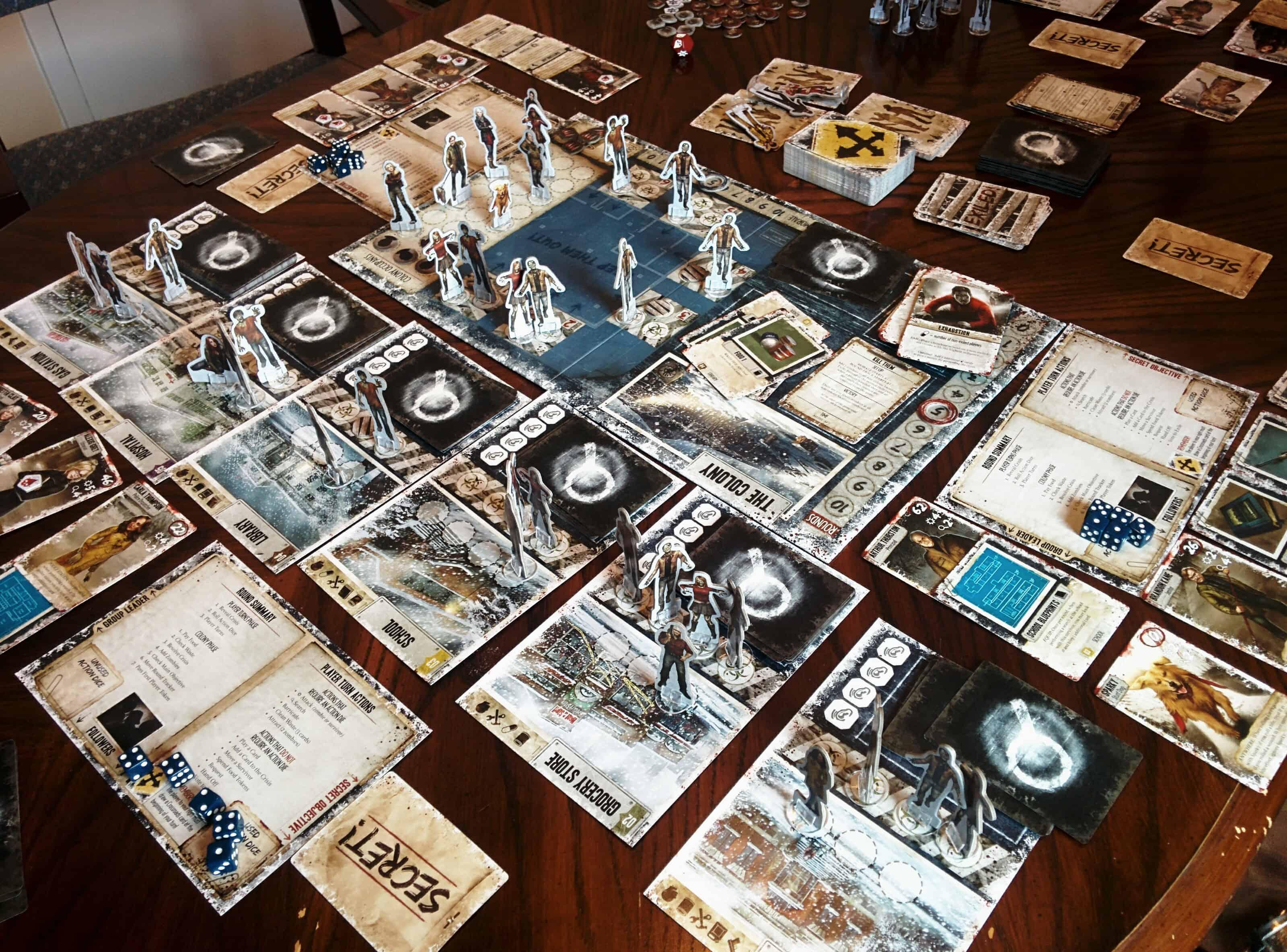 Dead of Winter – board game