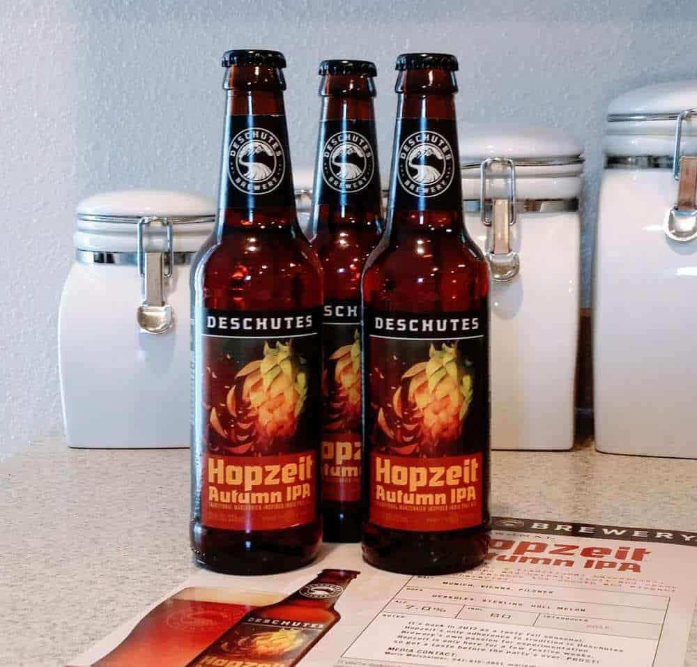 Deschutes Hopzeit Autumn IPA – oktoberfest beer
