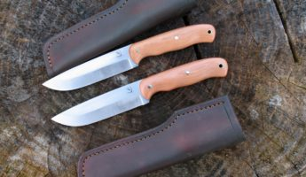 Diving Sparrow Bushcraft Knife Works Saker 345x200 Survive, Contrive, Create: The 14 Best Bushcraft Knives