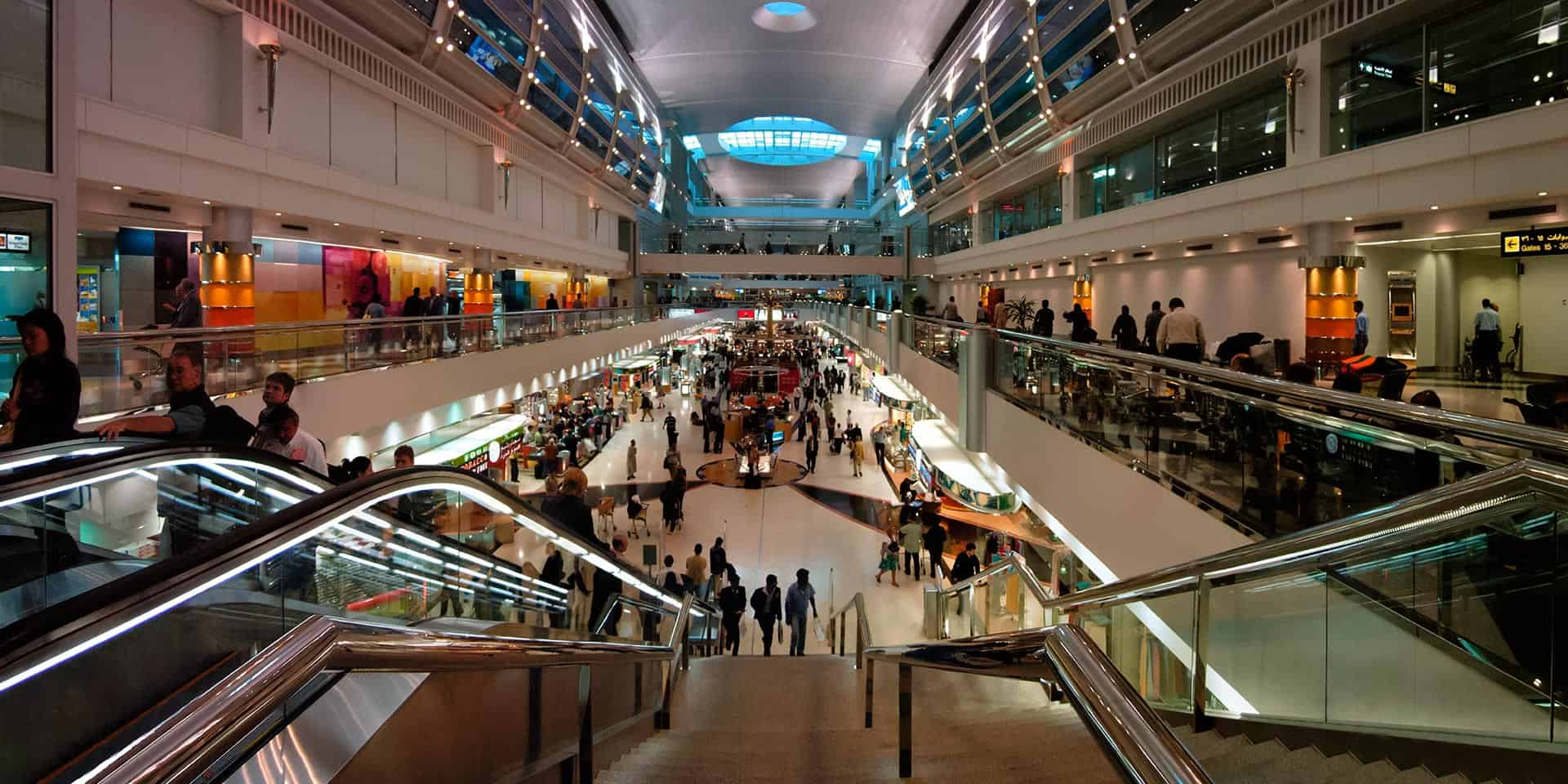 Dubai International Airport – largest building