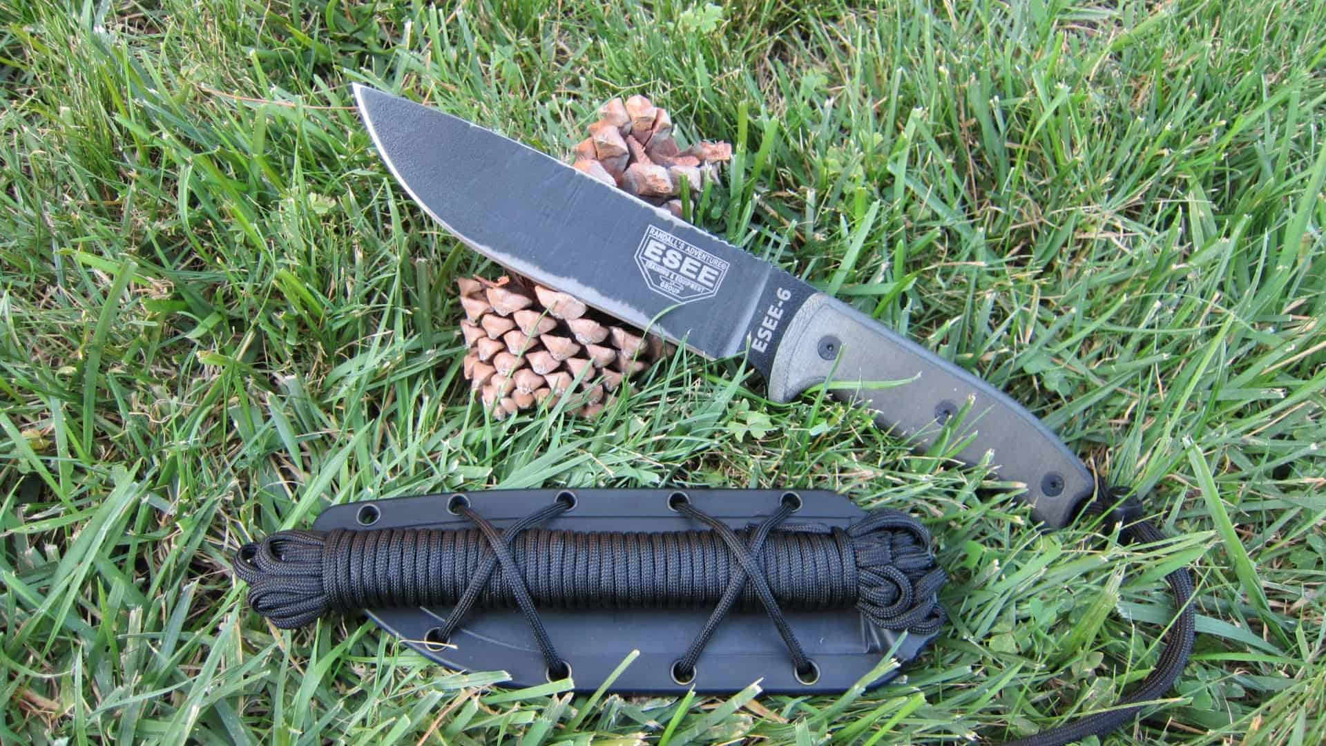 ESEE 6 – bushcraft knife