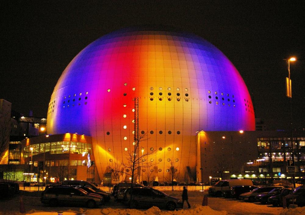Ericsson Globe – largest building
