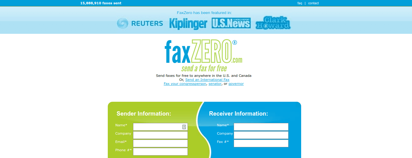 Fax Zero – useful website