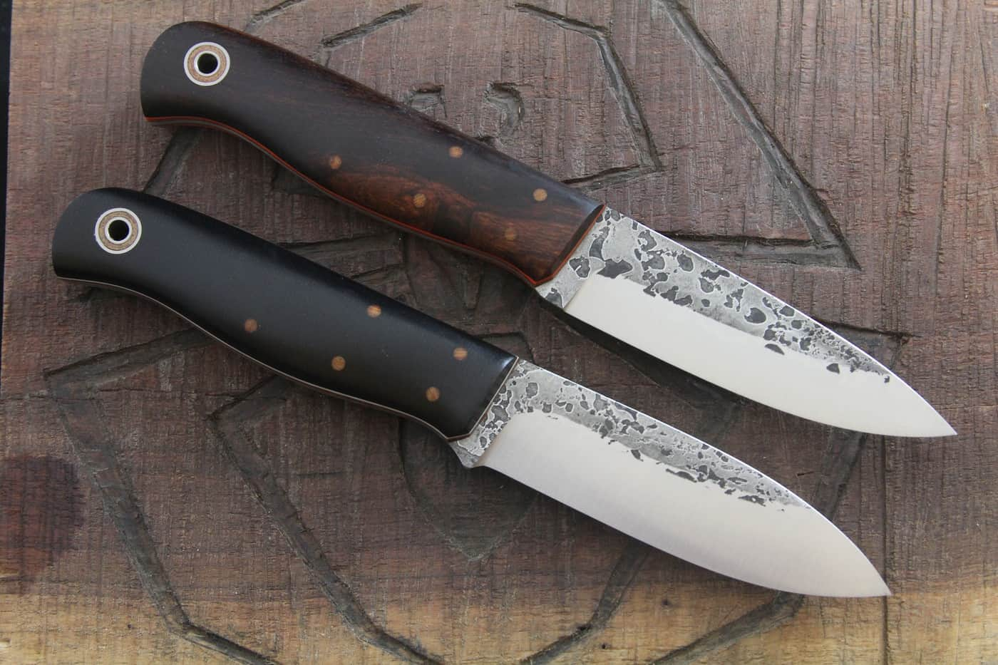 Fiddleback Forge KE Bushie – bushcraft knife