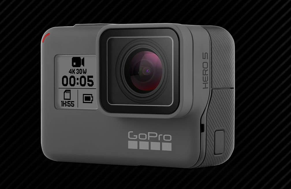 GoPro Hero5 Black – waterproof camera