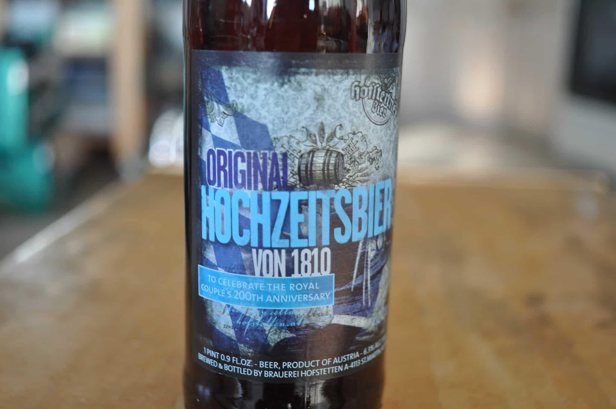 Hofstettner Original Hochzeitsbier von 1810 – oktoberfest beer
