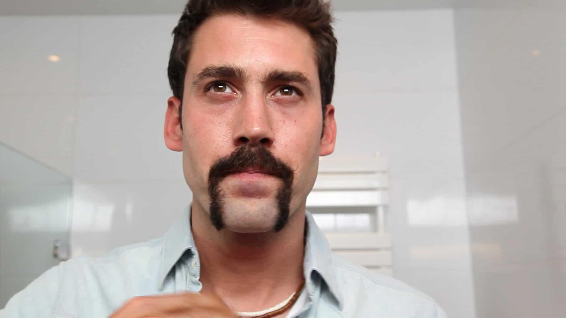 Horseshoe – mustache style