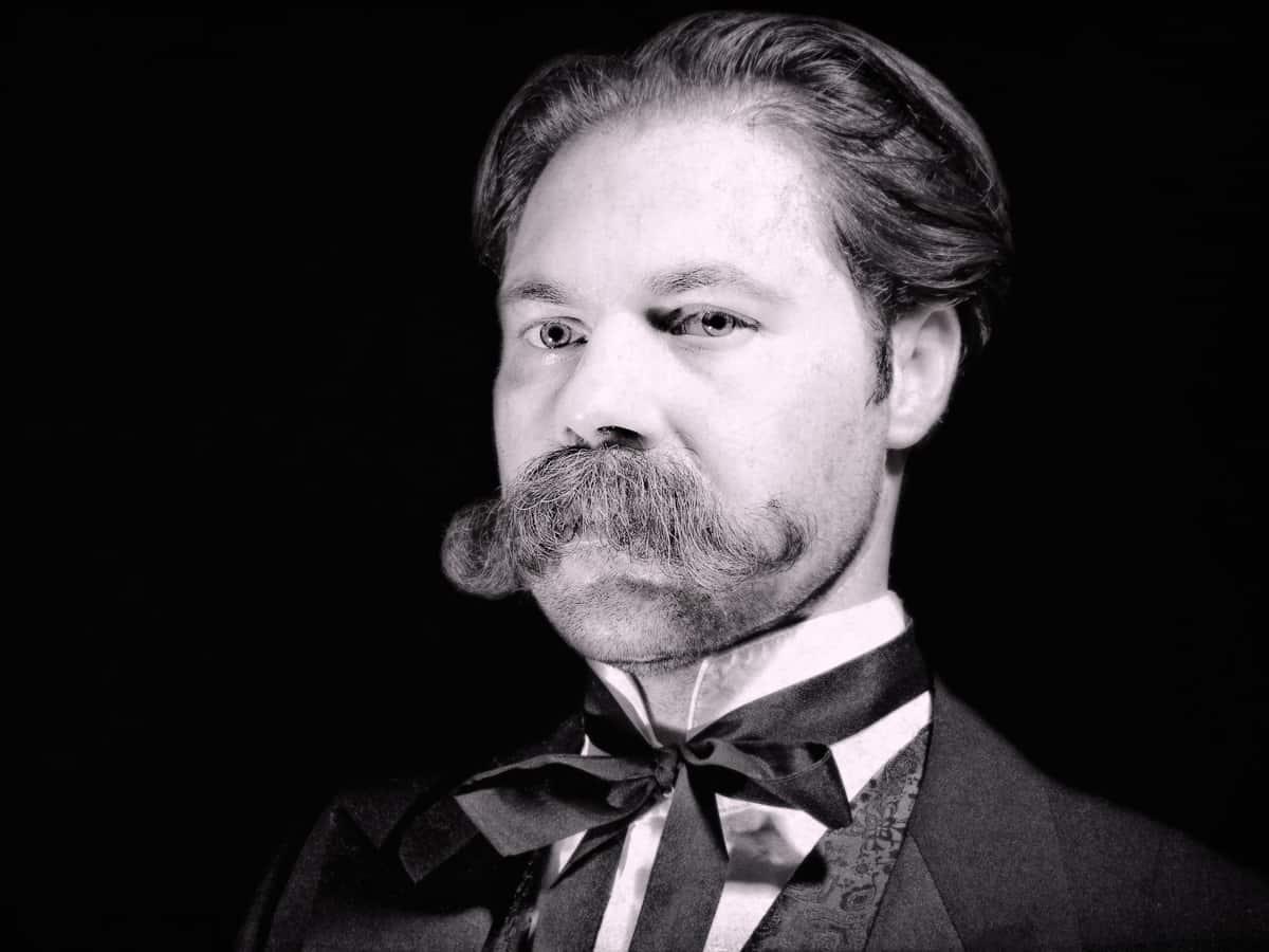 Hungarian – mustache style
